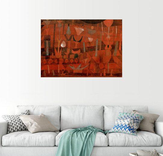 Posterlounge Wandbild - Paul Klee »Indischer Blumengarten«