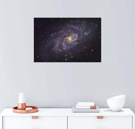 Posterlounge Wandbild - Roth Ritter »Die Triangulum Galaxie«