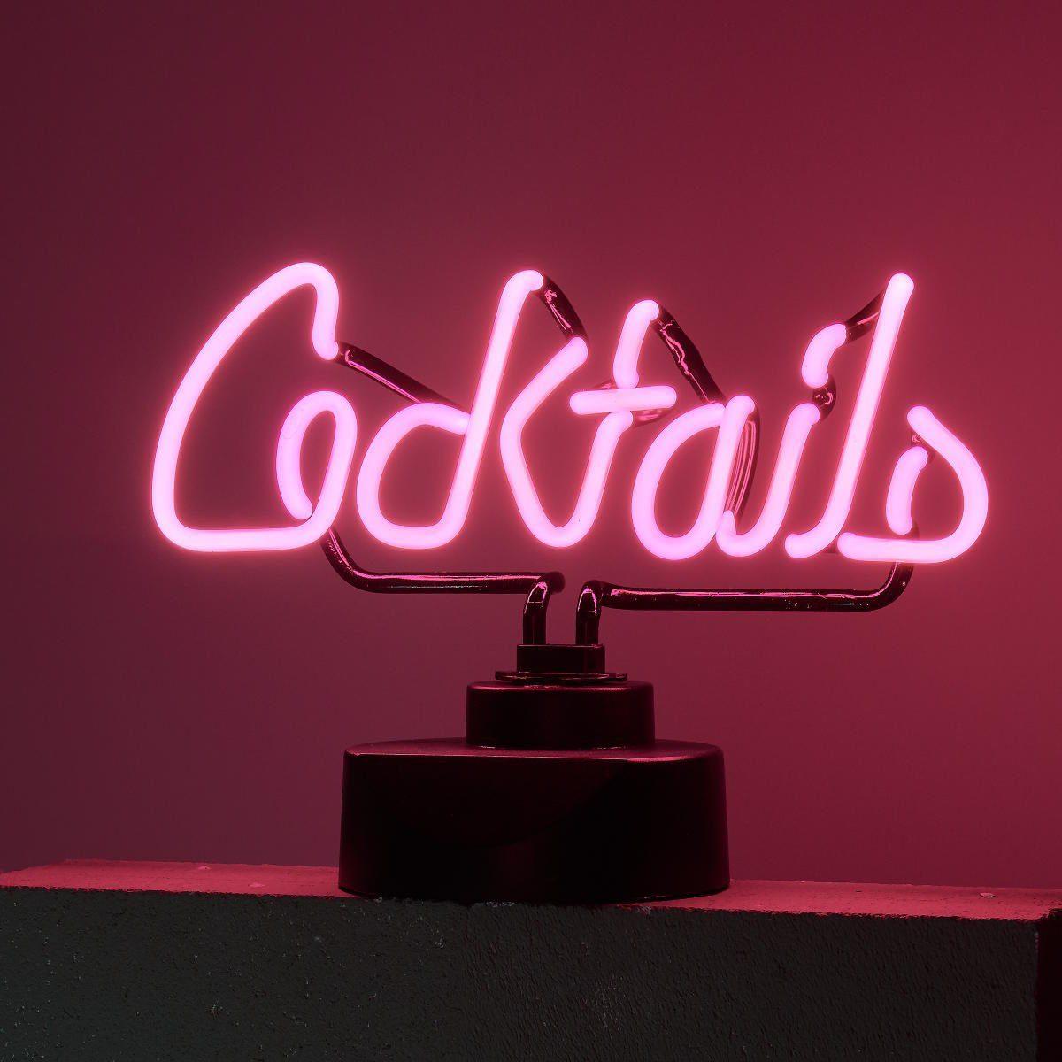 BUTLERS COCKTAILS »Neon-Leuchte Cocktails«