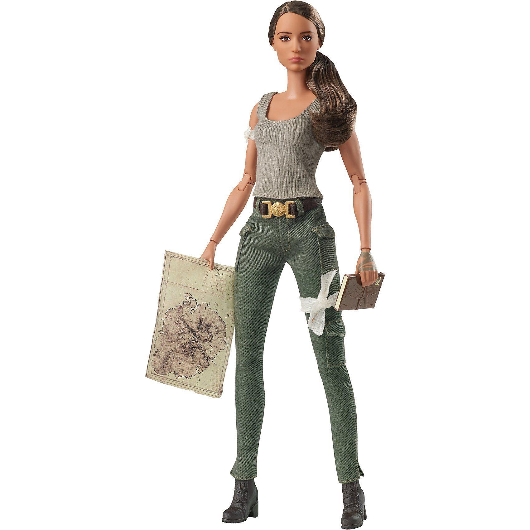 Mattel® Barbie Signature Lara Croft Barbie Puppe