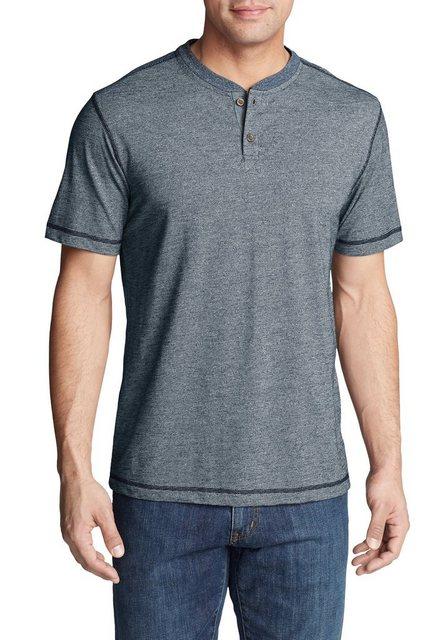 eddie bauer -  T-Shirt Ferox Henley - Kurzarm - Strukturiert