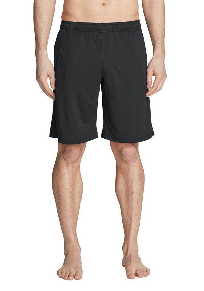 Herren Eddie Bauer Motion Shorts Resolution Shorts grau | 04057682288673