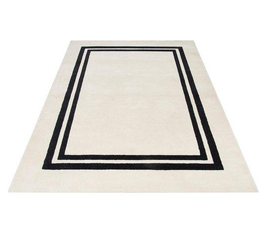 Teppich »Adina«, Guido Maria Kretschmer Home&Living, rechteckig, Höhe 13 mm, Elegante Doppelbordüre