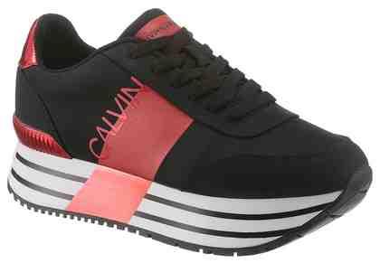 Calvin Klein »Coretta« Sneaker mit auffälliger Plateausohle