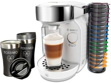 tassimo kapselmaschine tassimo caddy tas7004 inkl 2x travel mugs im wert von 20 uvp online. Black Bedroom Furniture Sets. Home Design Ideas