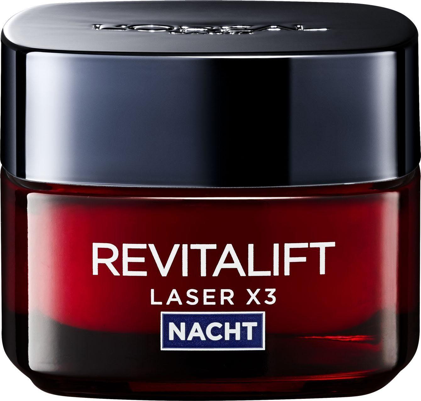 L'Oréal Paris, »RevitaLift Laser X3 Nachtpflege«, Gesichtspflege