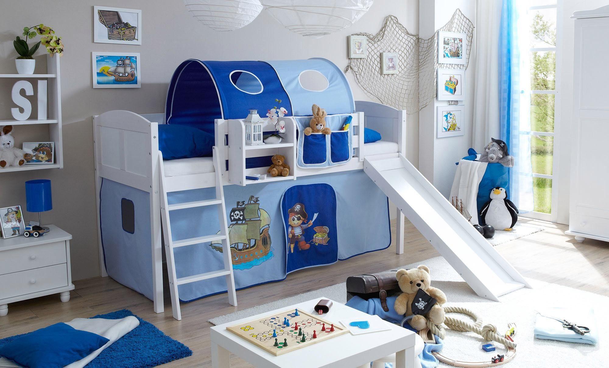 Etagenbett Mit Rutsche : Hochbett mit rutsche einrichtungsideen für kinderzimmer
