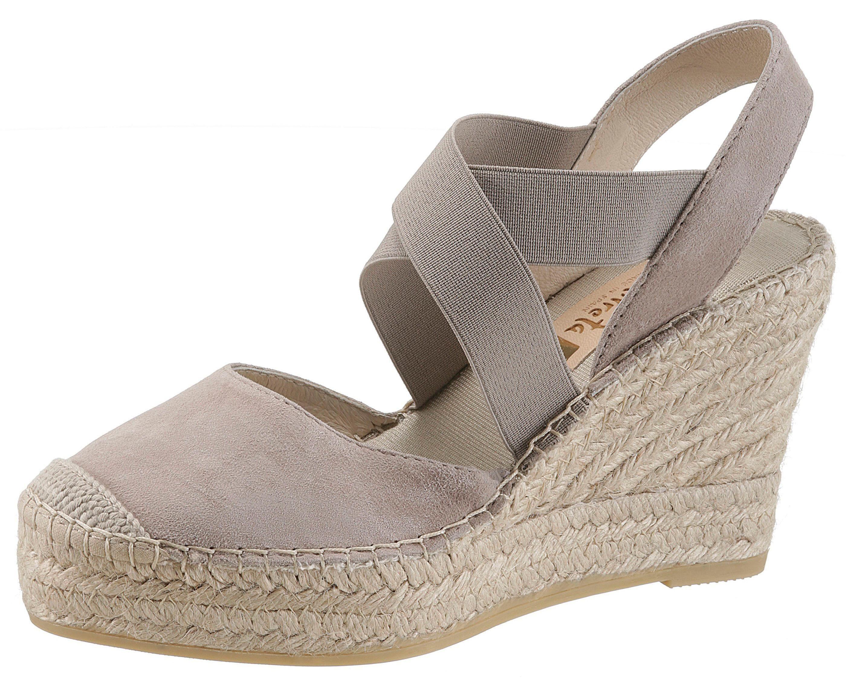 Vidorreta Sandalette, mit Gummizug online kaufen  taupe