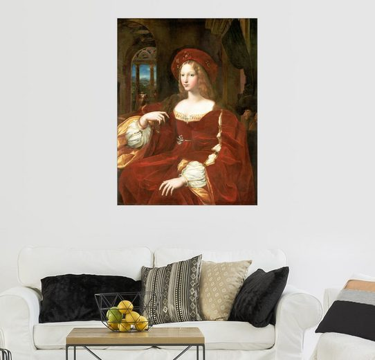 Posterlounge Wandbild - Raffael »Isabel de Requesens«