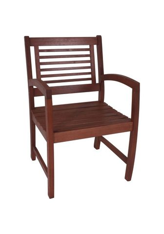GARDEN PLEASURE Poilsio kėdė »MADISON« Eukalyptusholz ...