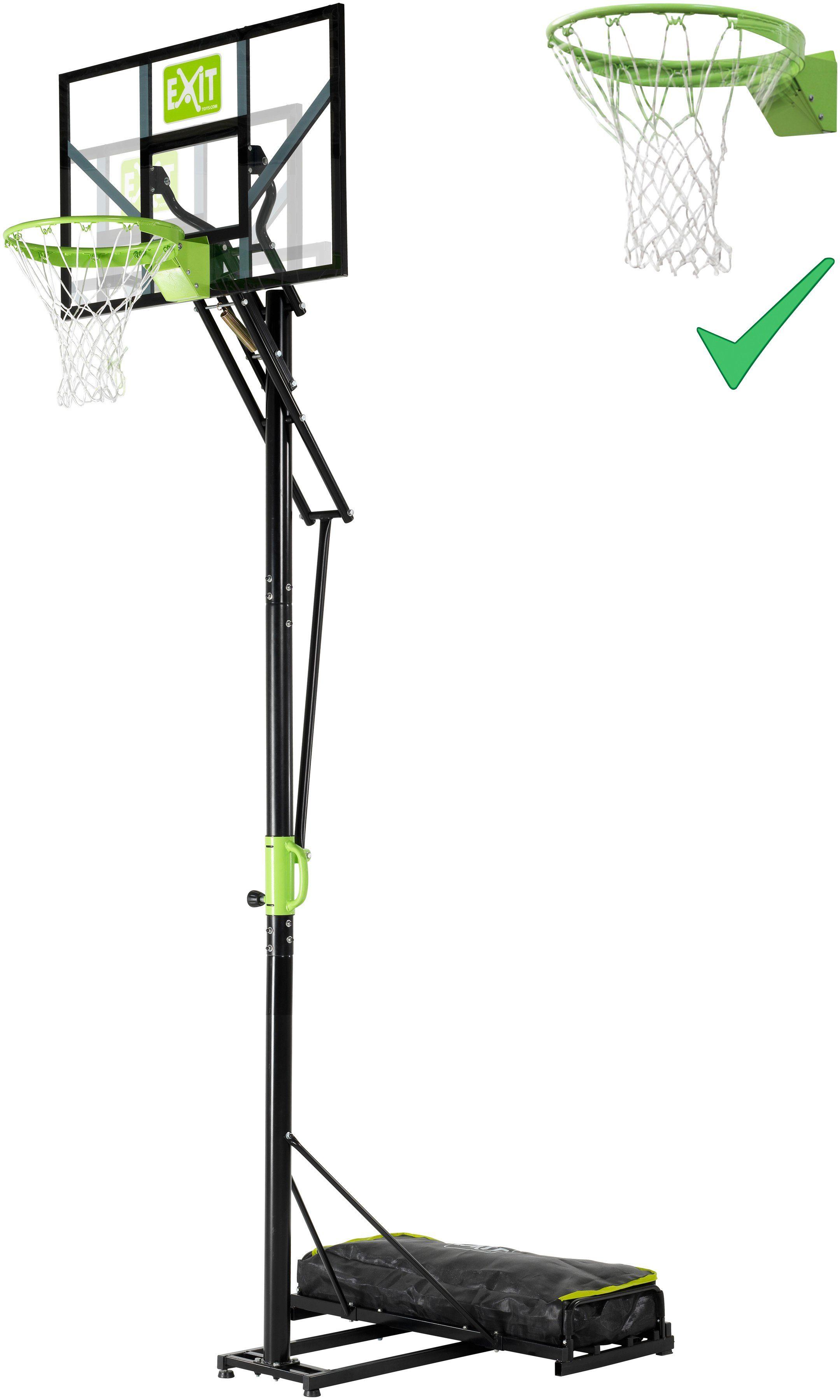 EXIT Basketballanlage »Polestar Portable Basket«, in 5 Höhen einstellbar, mit Dunkring