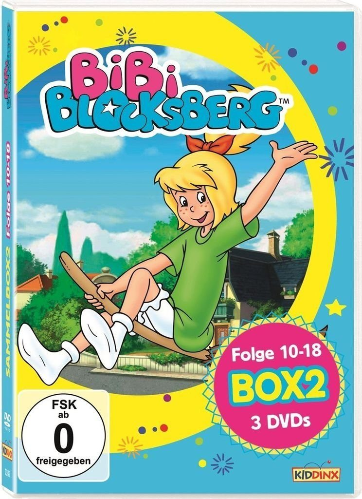 Kiddinx DVD - Film »Bibi Blocksberg - DVD-Sammelbox 2«