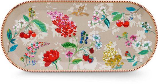 PiP Studio Kuchenplatte »Hummingbird«, Porzellan, 33x15 cm