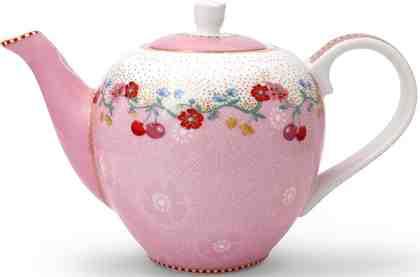 PiP Studio Teekanne klein, 0,8 Liter, »Cherry«