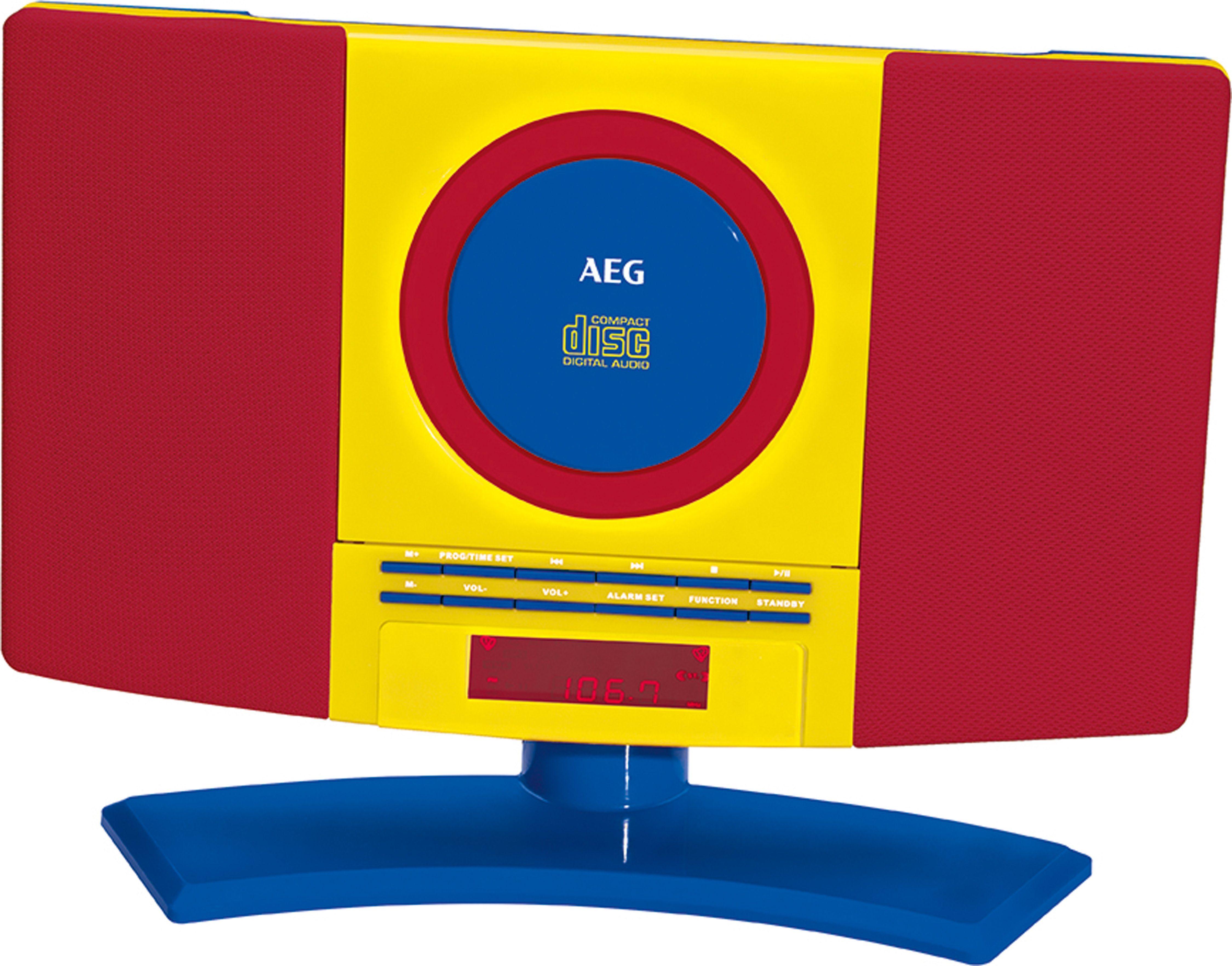 AEG CD / MP3 Player / UKW Radio »MC 4464«