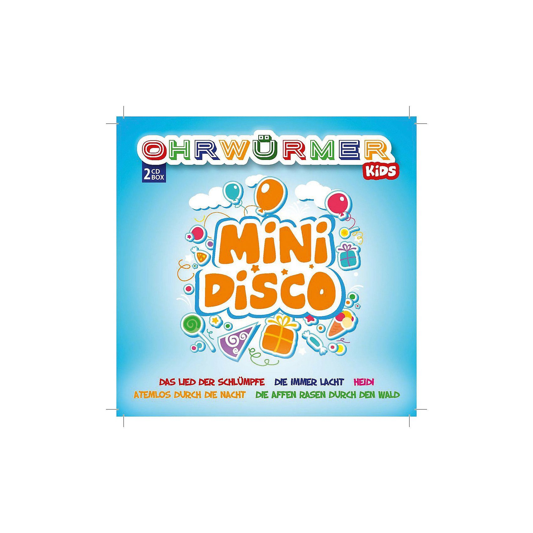 CD Ohrwürmer KIDS - Mini Disco (2 CDs)