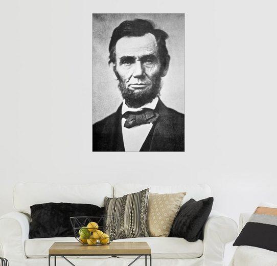 Posterlounge Wandbild - Alexander Gardner »Abraham Lincoln«