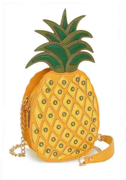 LYDC Umhängetasche »ALISSON«, in modischer Ananas Form