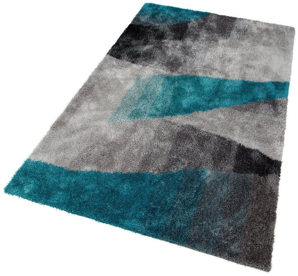 hochflor teppich adela my home selection rechteckig h he 30 mm online kaufen otto. Black Bedroom Furniture Sets. Home Design Ideas