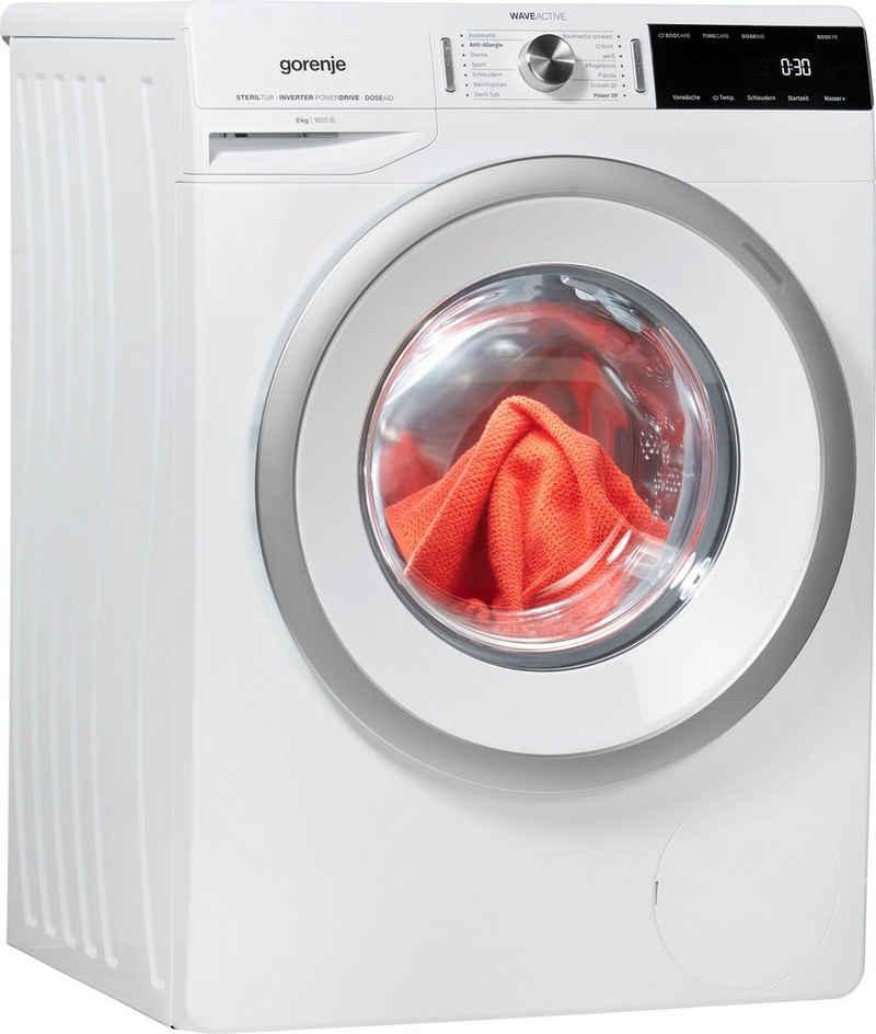 GORENJE Waschmaschine WA866T, 8 kg, 1600 U/min