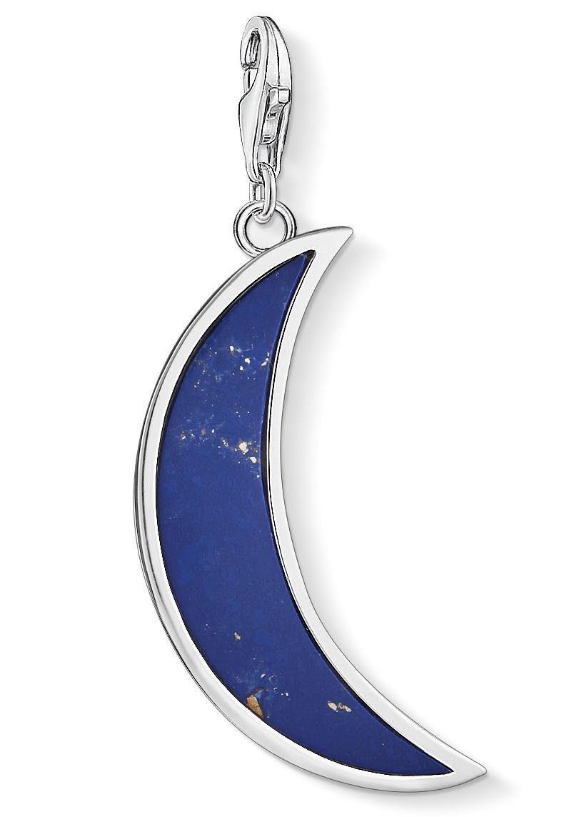 THOMAS SABO Charm-Einhänger »Mond dunkelblau, Y0006-771-1« mit imit. Lapislazuli