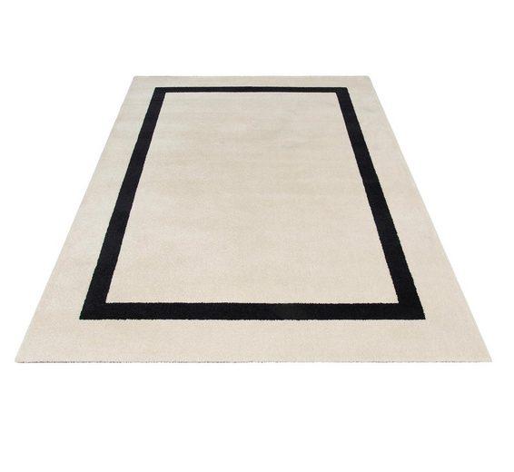 Teppich »Carmen«, Guido Maria Kretschmer Home&Living, rechteckig, Höhe 13 mm, Elegante Brüre