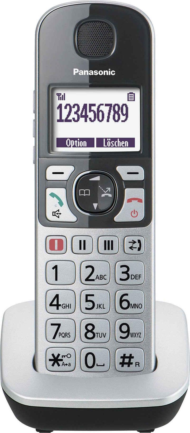Panasonic »KX-TGQ500« Seniorentelefon (Mobilteile: 1, mit IP-Technologie)