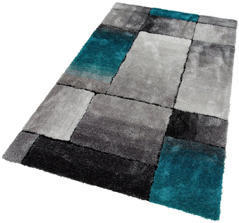 Hochflor Teppich Fajola My Home Selection Rechteckig Hohe 30 Mm