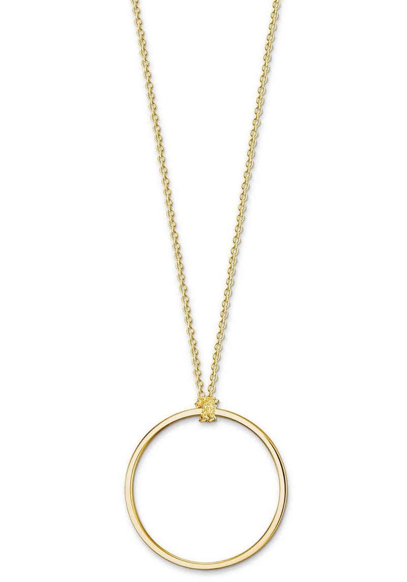 THOMAS SABO Charm-Kette »Kreis gold, X0252-413-39«