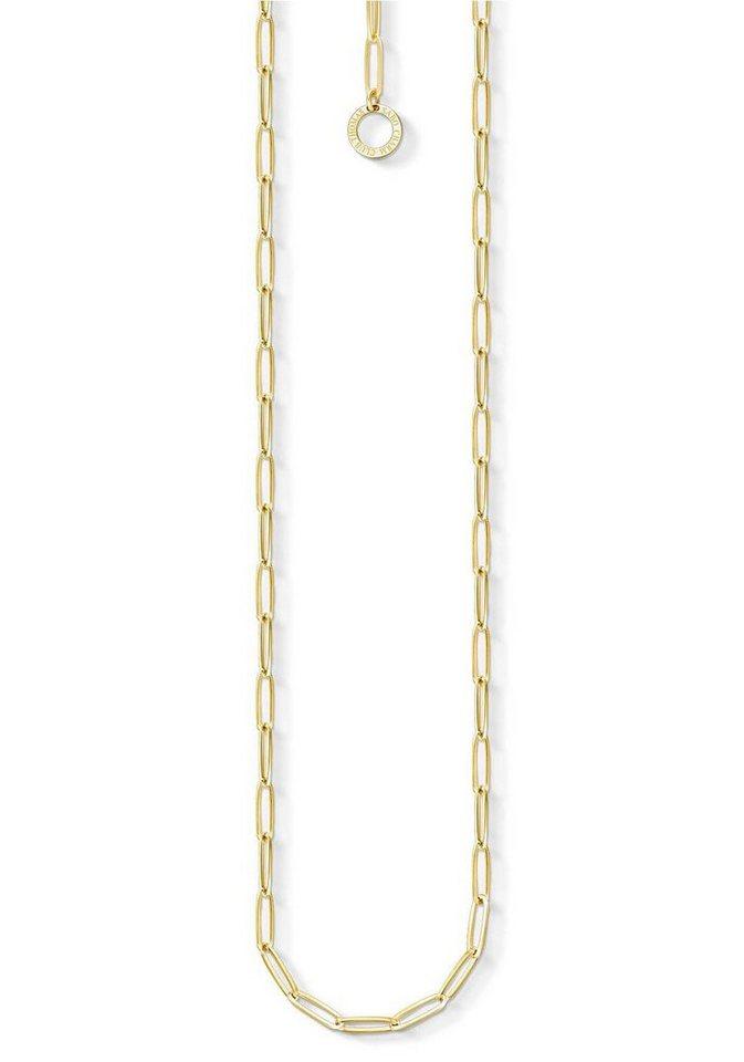 THOMAS SABO Charm-Kette »X0254-413-39« | Schmuck > Armbänder > Armketten | Goldfarben | THOMAS SABO