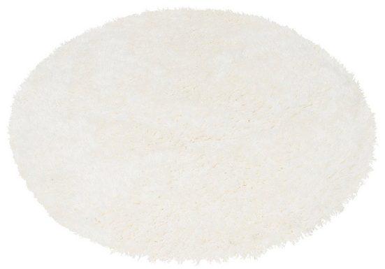 Hochflor-Teppich »Floki 861«, merinos, rund, Höhe 70 mm, Besonders weich durch Microfaser