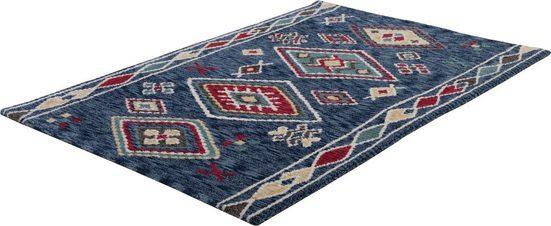 Teppich »Vittoria 016«, Gino Falcone, rechteckig, Höhe 15 mm, Besonders weich durch Microfaser