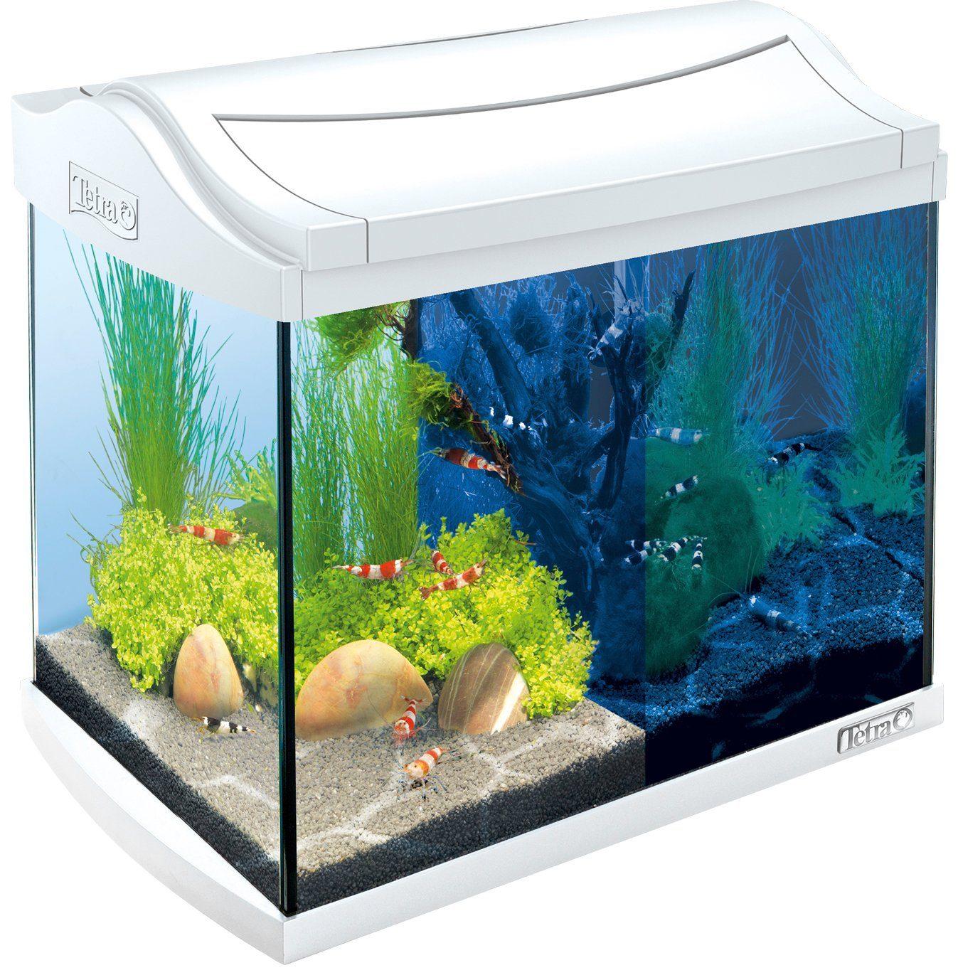 Tetra Aquarium »AquaArt LED Discovery Line« 20 l, weiß
