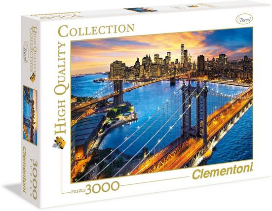 Clementoni® Puzzle »New York«, 3000 Puzzleteile