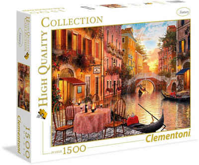 Clementoni® Puzzle »High Quality Collection - Venedig«, 1500 Puzzleteile, Made in Europe