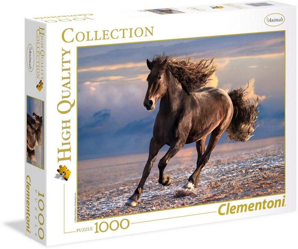 Clementoni Puzzle, 1000 Teile,  Wildpferd  kaufen