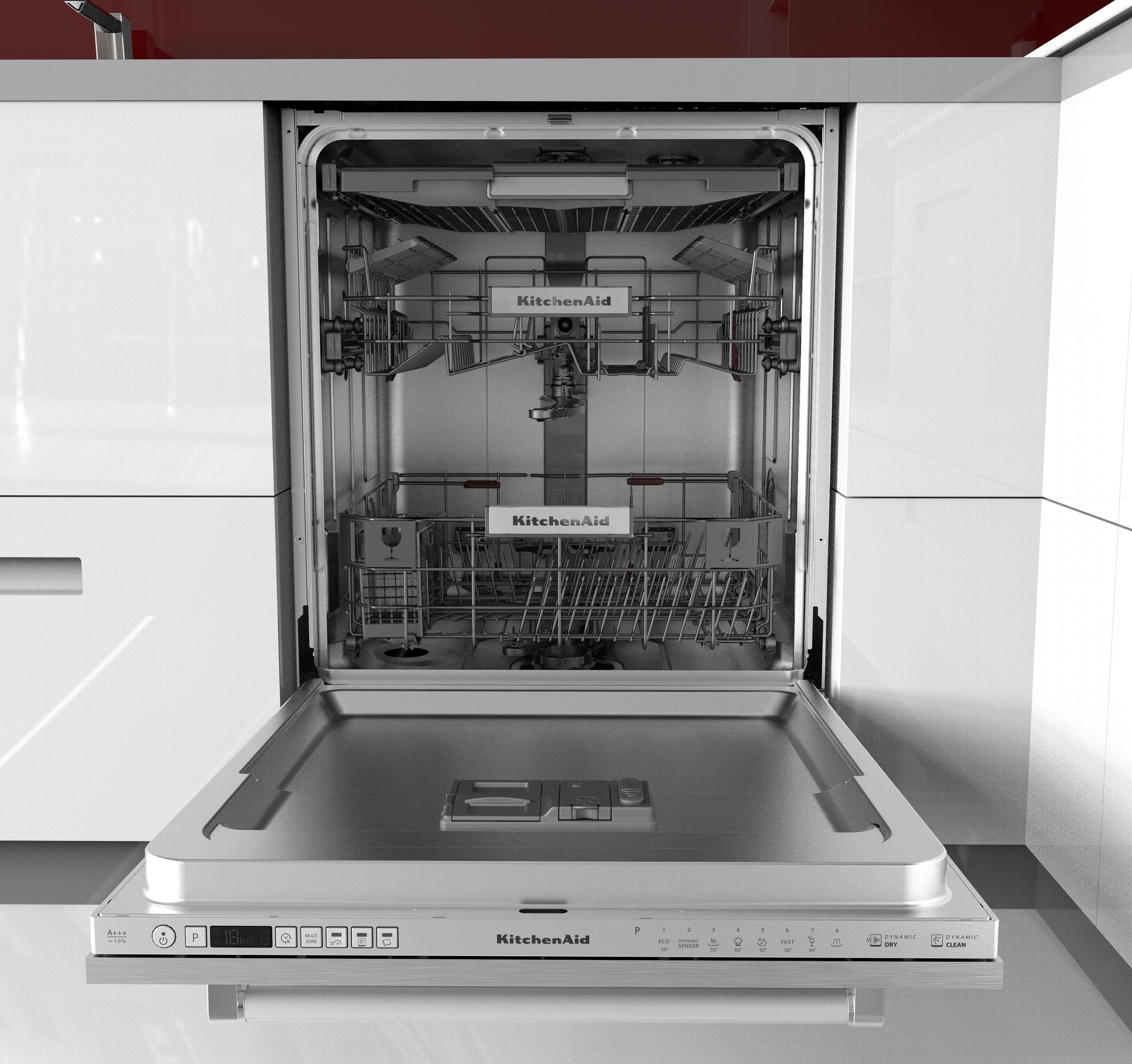 KitchenAid vollintegrierbarer Geschirrspüler, KDSCM 82141, 9 l, 14 Maßgedecke