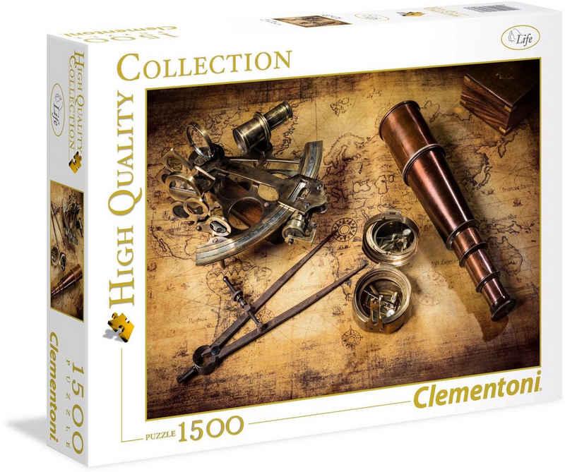 Clementoni® Puzzle »High Quality Collection - Kurs auf den Schatz«, 1500 Puzzleteile, Made in Europe