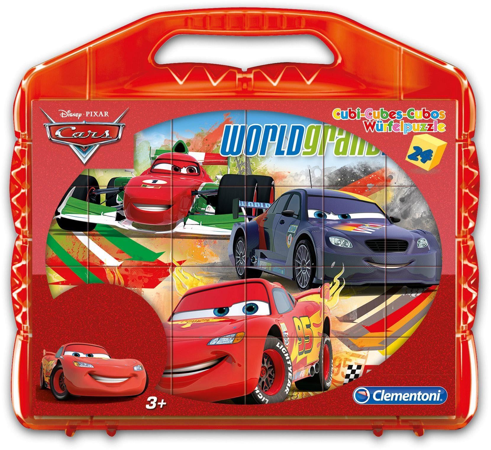 Clementoni® Würfelpuzzle »Disney Cars«, 24 Teilig