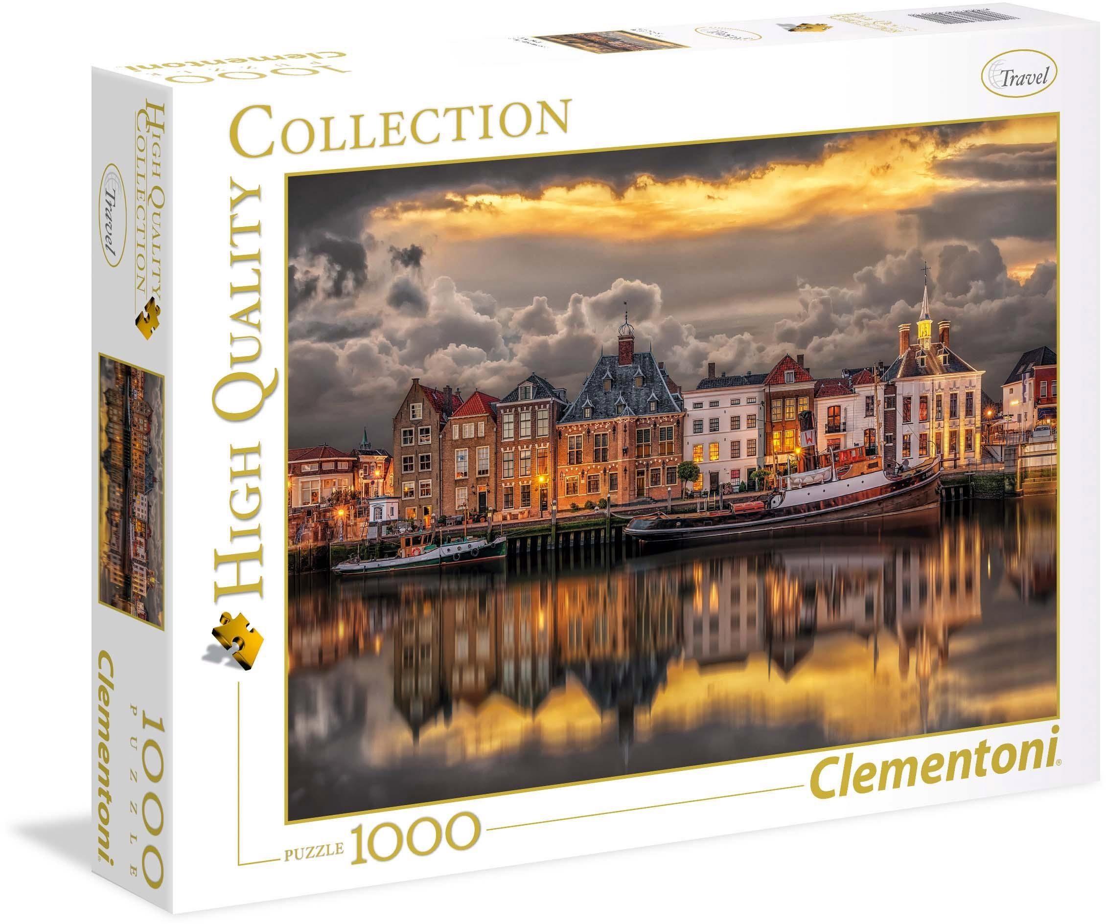 Clementoni Puzzle, 1000 Teile, »Niederländische Traumwelt«