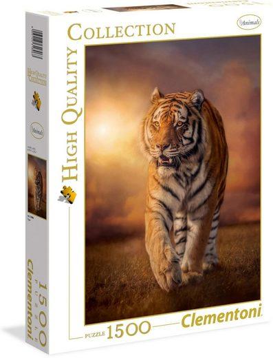 Clementoni® Puzzle »Tiger«, 1500 Puzzleteile