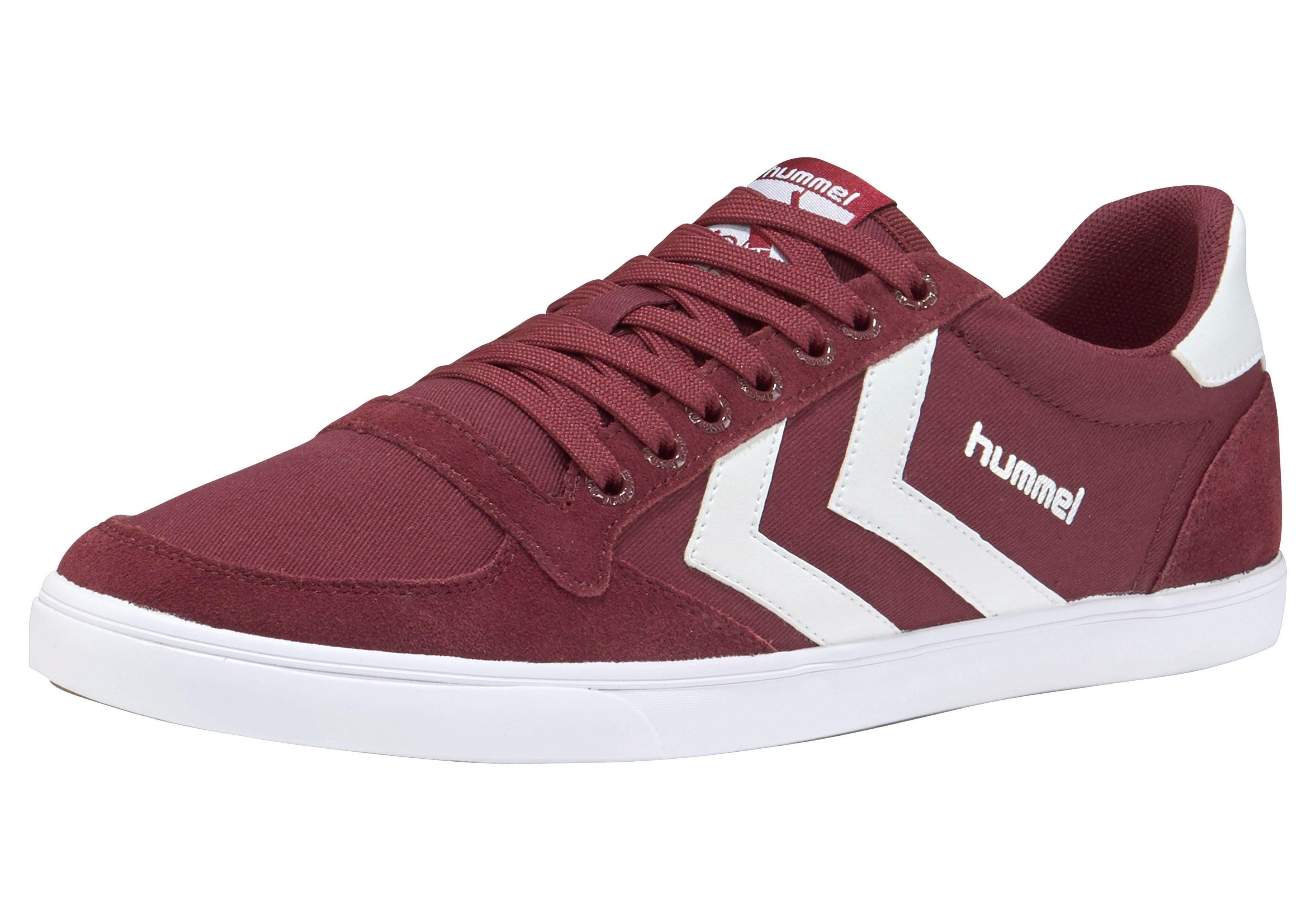 Hummel Slimmer Stadil Canvas Low Sneaker kaufen  bordeaux