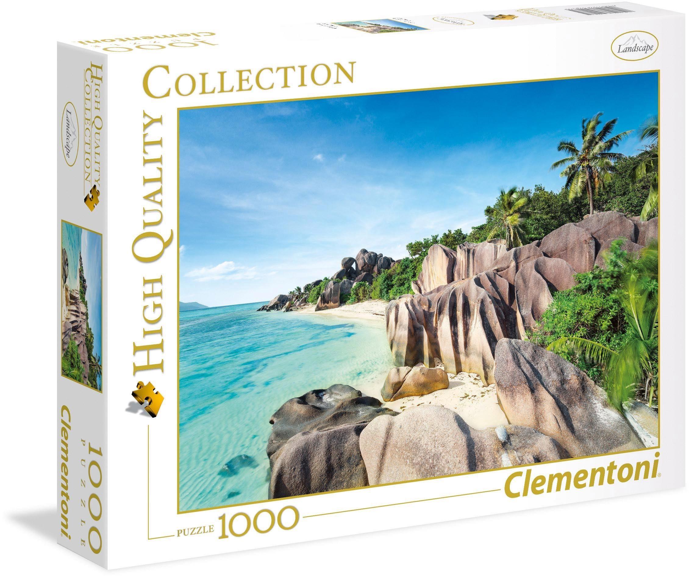 Clementoni Puzzle, 1000 Teile, »Paradiesstrand«