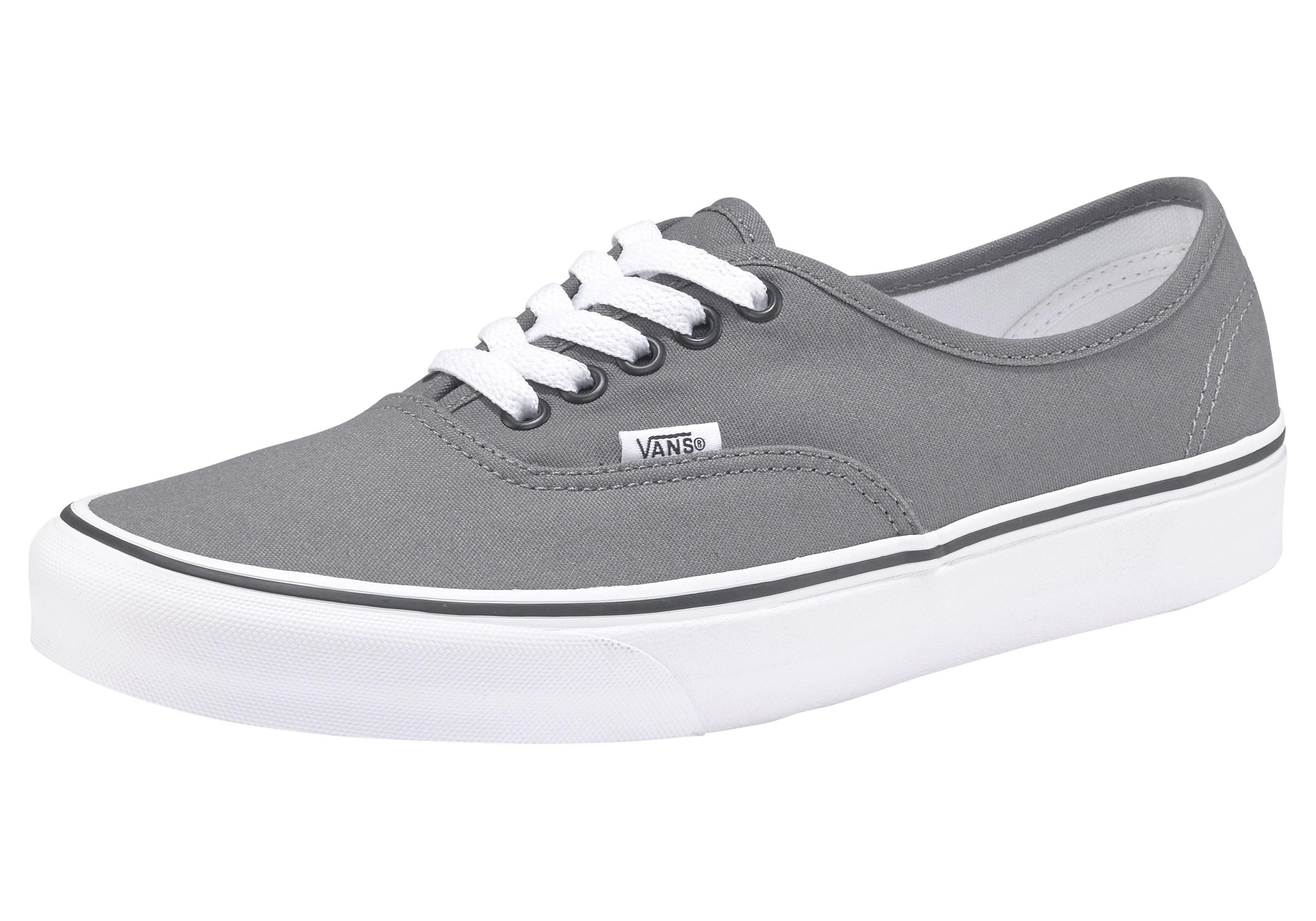 Vans Authentic Sneaker online kaufen  grau-weiß