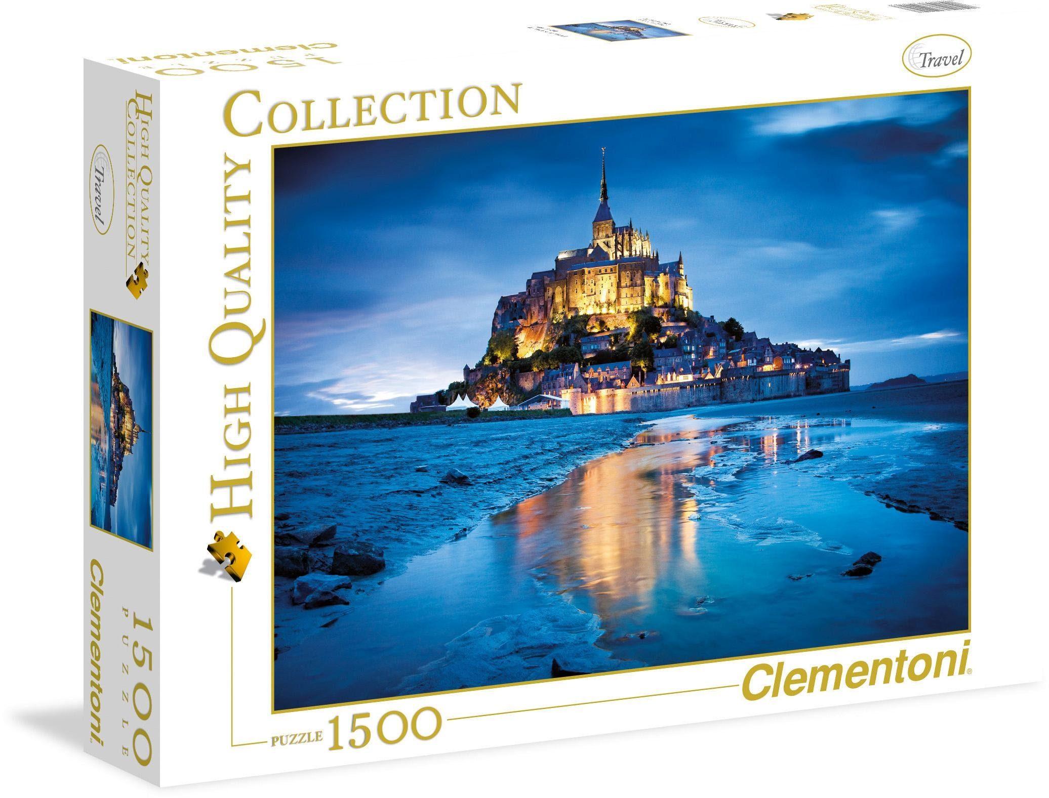 Clementoni Puzzle, 1500 Teile, »Le Mont Saint-Michel«