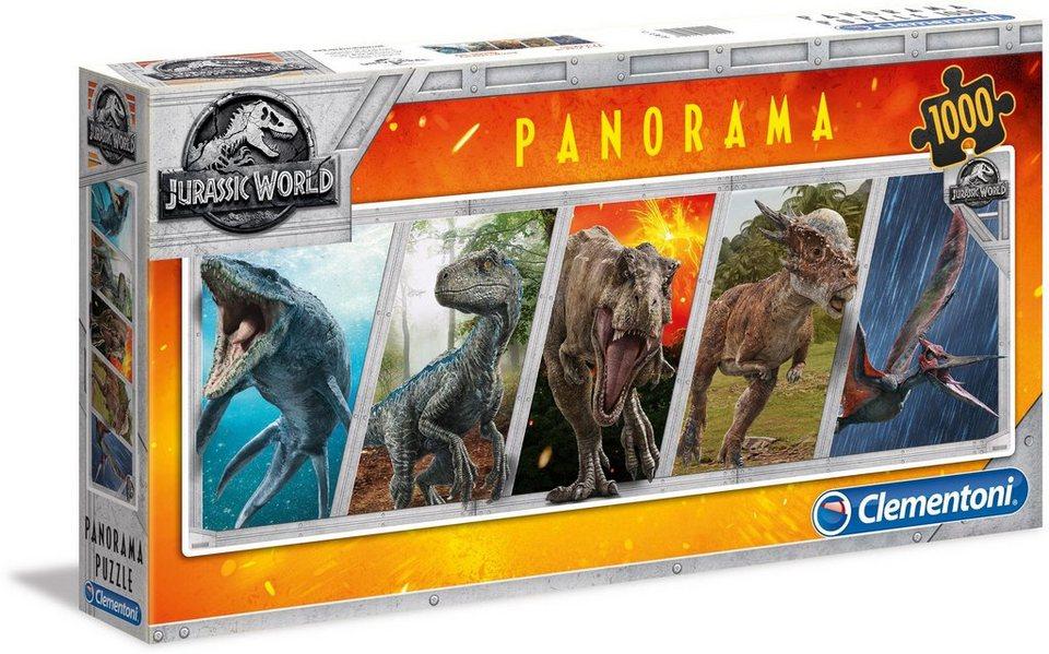 Clementoni Panoramapuzzle, 1000 Teile,  Jurassic World  online kaufen