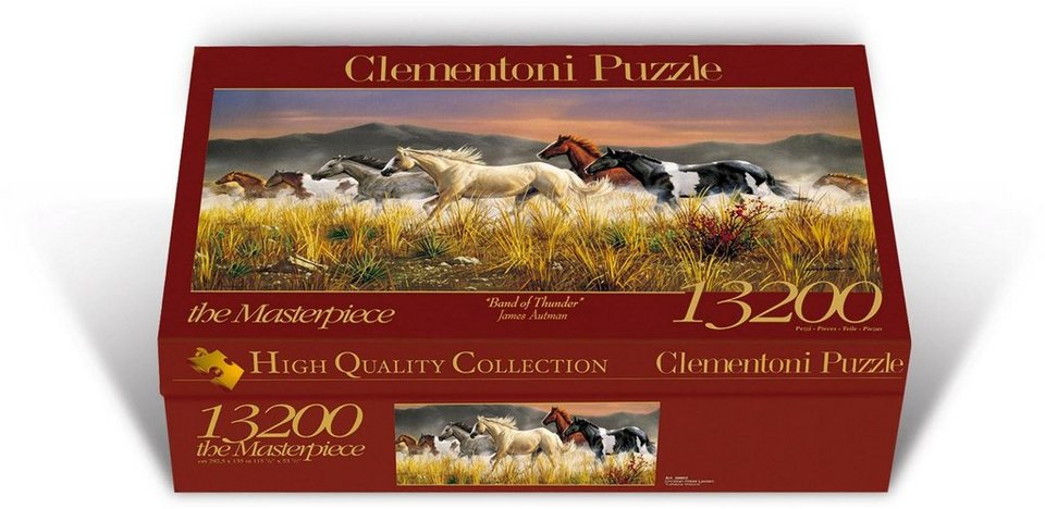 Clementoni Puzzle, 13200 Teile,  James Autman: Band of Thunder  online kaufen