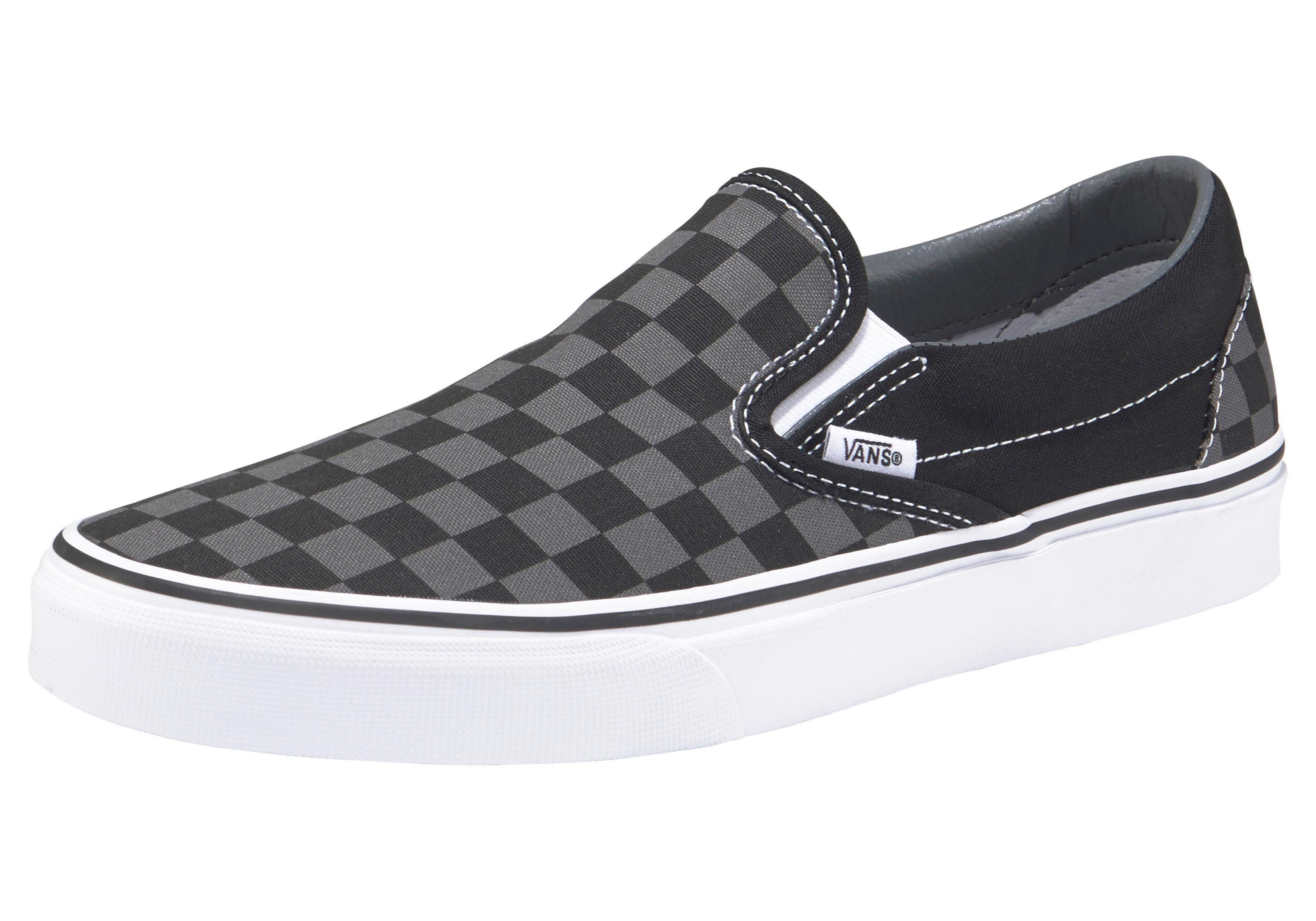 Vans Checkerboard Slip-On Sneaker online kaufen  schwarz-grau
