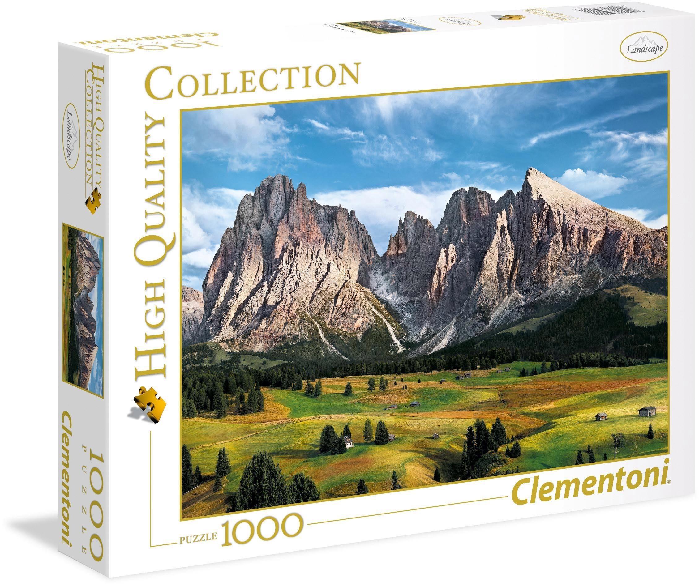 Clementoni Puzzle, 1000 Teile, »Die Alpen«