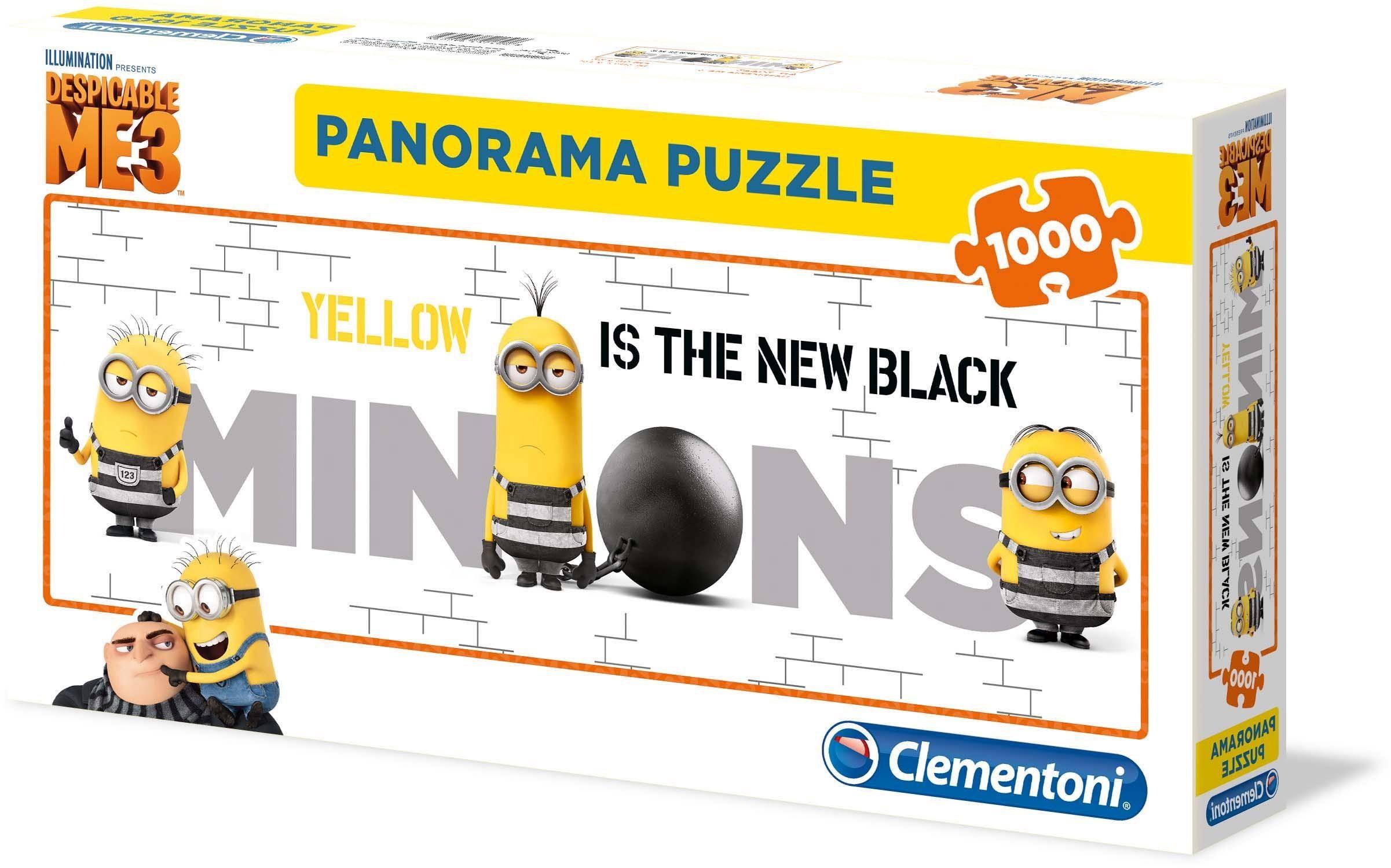 Clementoni Panoramapuzzle, 1000 Teile, »Despicable Me 3«